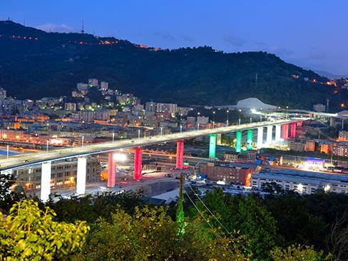 La progettazione del Viadotto di Genova San Giorgio:  l'impalcato, l'idraulica e gli impianti