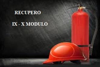 Webinar: RECUPERO 5° Corso di aggiornamento di prevenzione incendi in attuazione dell'art. 7 del D.M. 5 agosto 2011 – IX e X MODULO